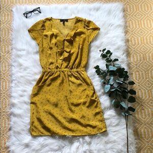 Jessica Simpson dress, Red heels print